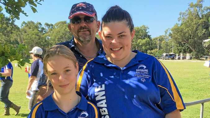 SUCCESS: Megan Guilfoyle-Hurley and Chantal Simpson both took home medals in equestrian events from the Queensland Special Olympic State Games.