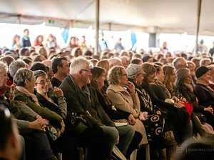 POPULAR: Byron Writers Festival 2016 recorded the biggest crowds in 20 years of the event.