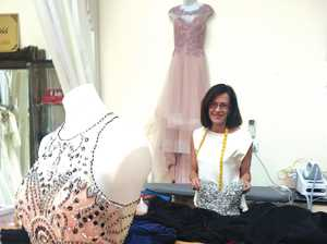 Julia Taranto at her My Tailoress boutique in The Strand Arcade, Lismore.