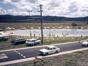 GOLD: The Lismore Lake Pool in its prime in the 1970s, as a free public amenity for young and old.