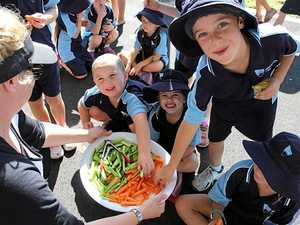 HEALTHY EATING: Students from across the Mid North Coast will attempt to break the record for crunching on vegies simultaneously on Thursday.
