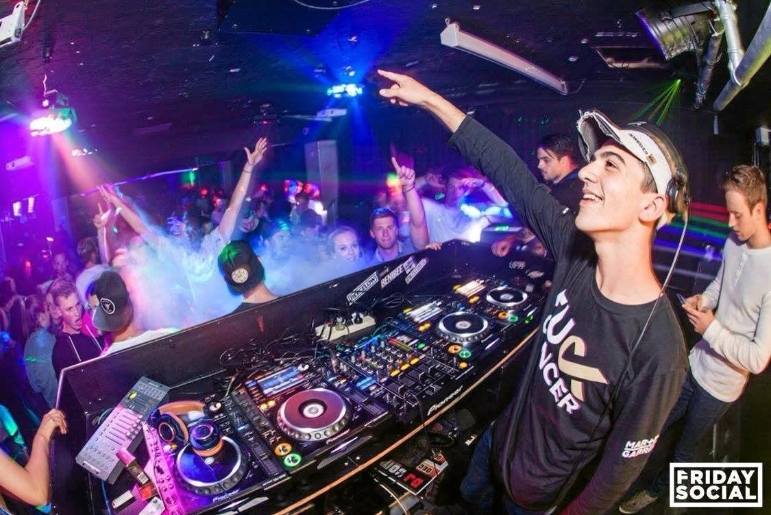 TURNING HEADS: Ben Whitty is hitting Coast nightclubs to DJ and he's only 16.