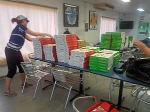 Ma-mma mia! Store dishes up 500 pizzas for school lunches