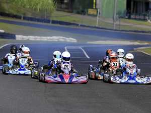 Plenty of competitors on the track at the latest club round of the Lismore Kart Club.