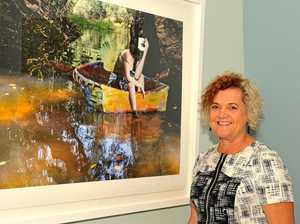 Artist's collage 'Lost' takes top honours at art awards