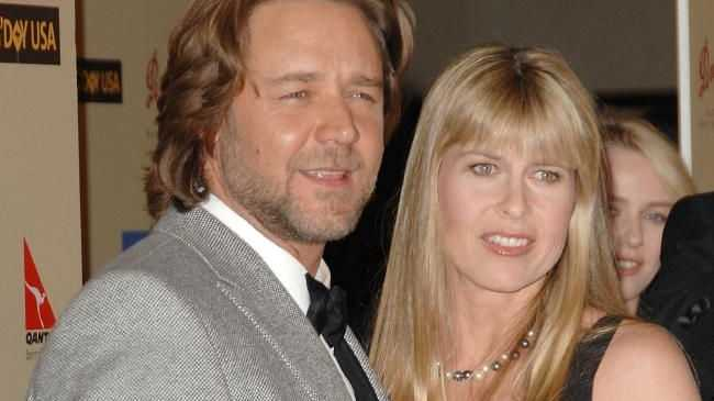 Russell Crowe and Terri Irwin in 2007.