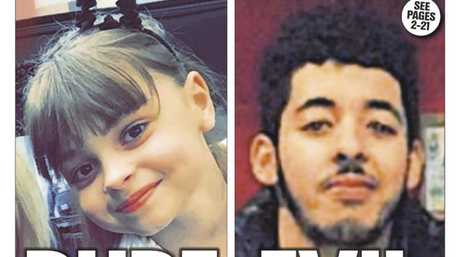 Manchester suicide bomber Salman Abedi is pictured on the cover of UK paper The Sun.
