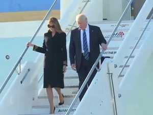 Melania publicly snubs Donald Trump again