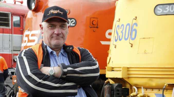 Bernie Baker stars in the TV series Railroad Australia.