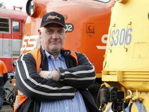 How true-blue train driver became a TV star