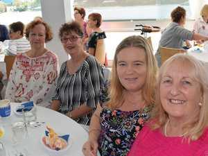Ena Murphy, Wendy Jarrett, Shelley Mills and Dianne
