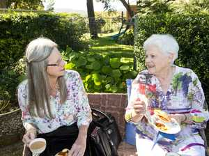 ( From left ) Loretta Male and Marg Sullivan at