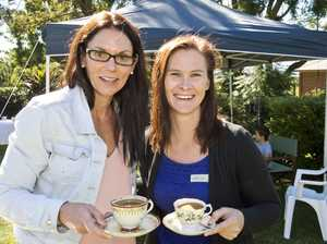 ( From left ) Maree Parsons and Cassie Hunter at