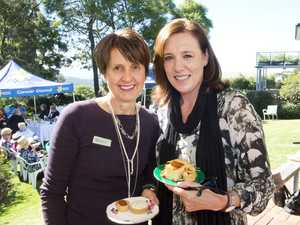 ( From left ) Teresa Spark and Jayne Parkin at