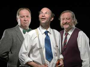 Thoroughly relishing their roles as the three crotchety old veterans (performed by Co Gray Wilson, Jason Smith and John Taylor), they provide fascinating individual insights into three proud men who despite their frailties are determined be adventurous and joyful to the end.