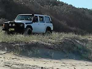 BEACH RAGE: Calls for crackdown on illegal dune driving