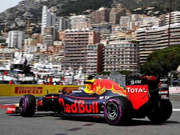 Max Verstappen at the Monaco Formula One Grand Prix at Circuit de Monaco, 2016.