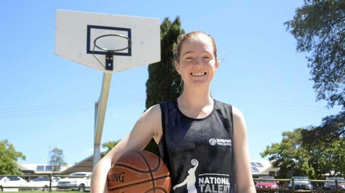 KIWI PRIDE: Jasmine Gardiner represented New Zealand last year.
