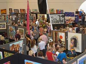 The crowd at last year's Immanuel Arts Festival.