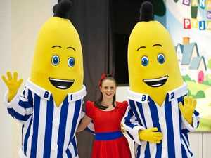 Bananas in Pyjamas star at family research event