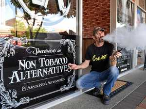 Vape store 'raided by health department'