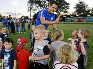A-League star keen to help kids in Ipswich