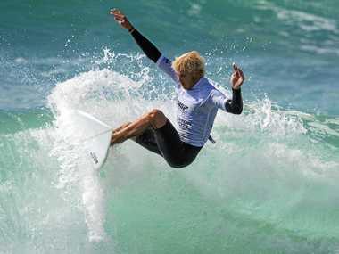 Garrett Parkes is always a contender in the Ben King Memorial Surf Classic.