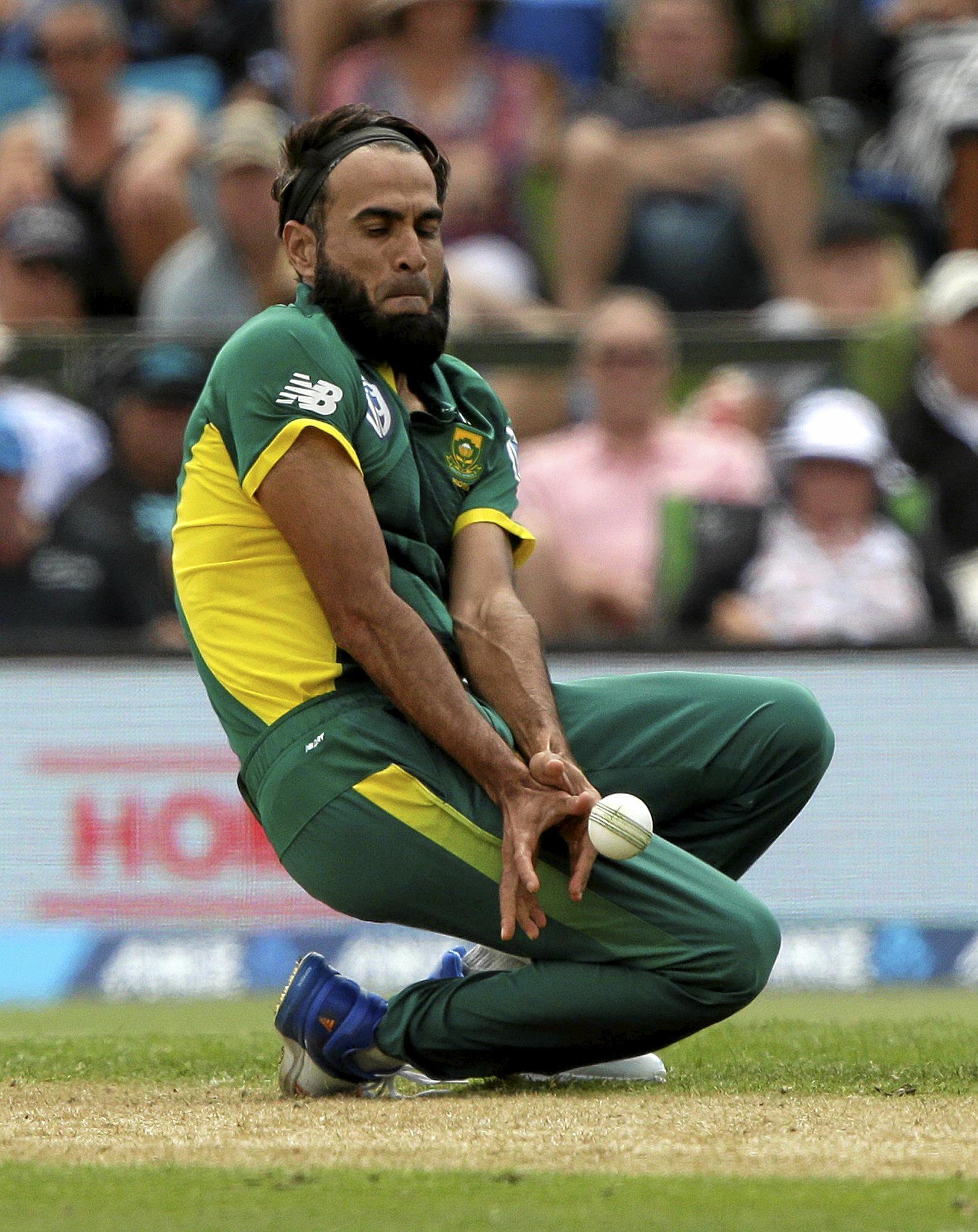 South Africa's Imran Tahir.