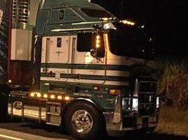 The recently stolen truck.