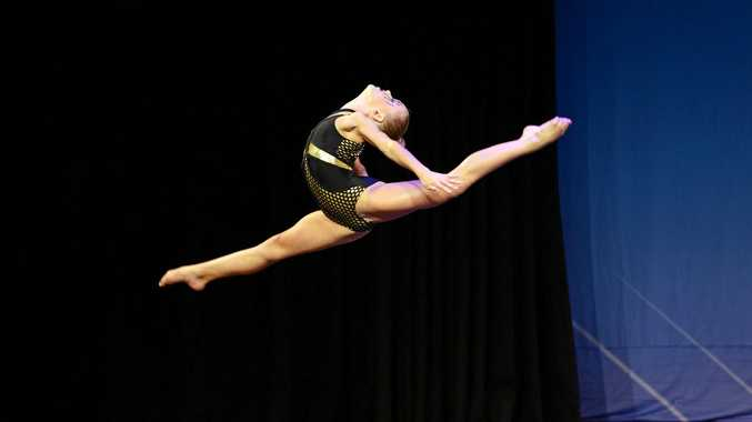 Cassidy Kilburn in the Get the Beat International Dance Competition.