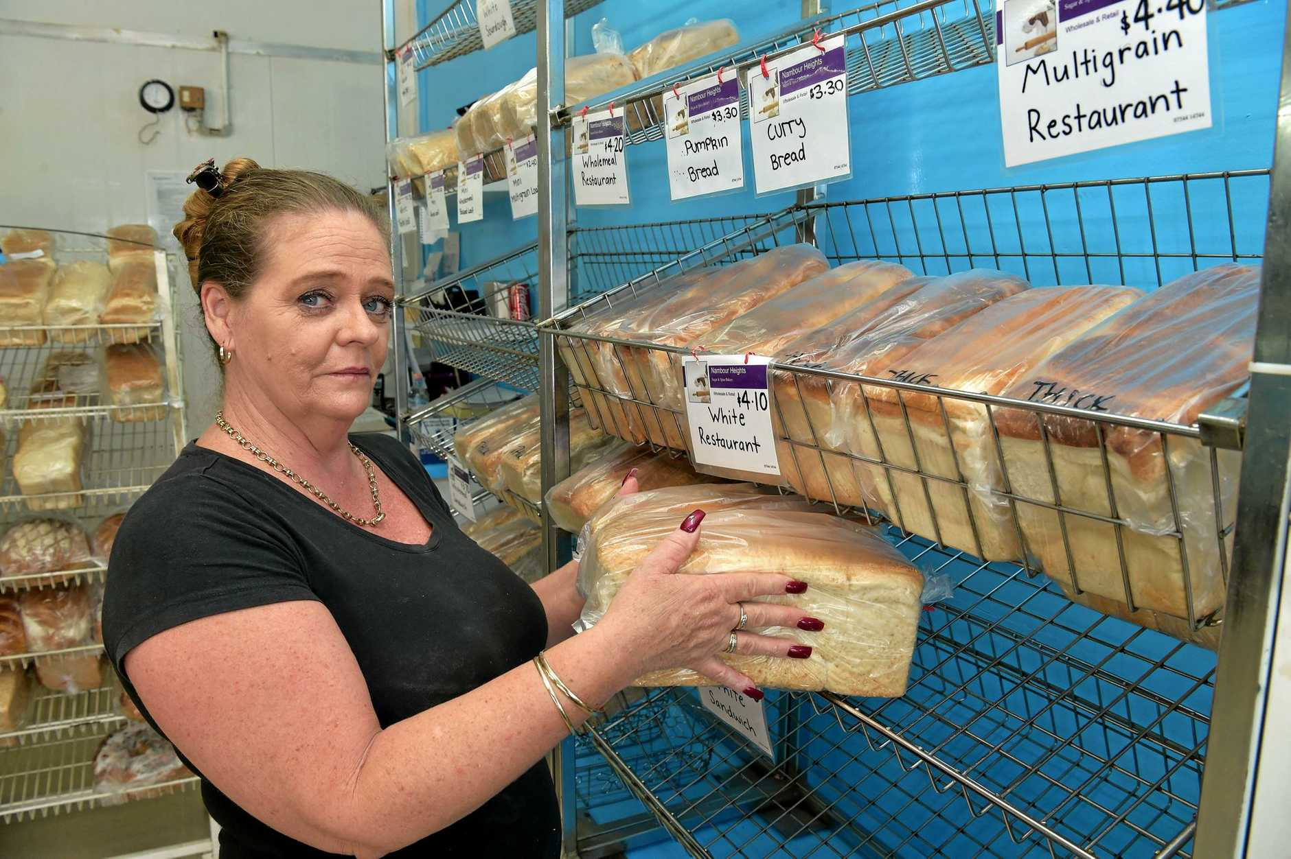 Kathleen and John Mahoney from Sugar and Spice Bakery were stung after the collapse of Cantro Pty Ltd and are still owed money.