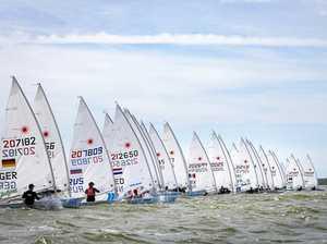 Cold Kennedy battling big Laser fleet in Dutch regatta