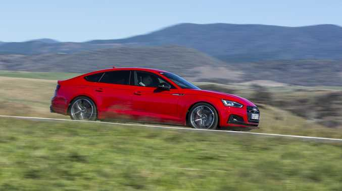 VALUE UP: The new Audi S5 Sportback is some $14,000 cheaper than the previous model with a $105,800 sticker price to price match its key performance rivals. The five-door S5 uses a 3.0-litre turbo V6 offering 260kW and 500Nm, hitting 100kmh in 4.7 seconds.