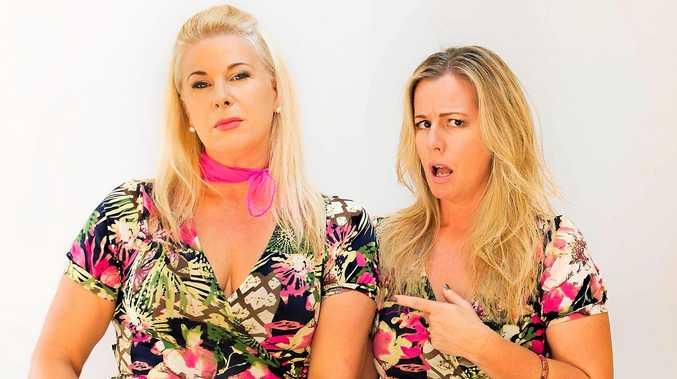 DUO: Mandy Nolan and Ellen Briggs bring their hit show Women Like Us to Nimbin.