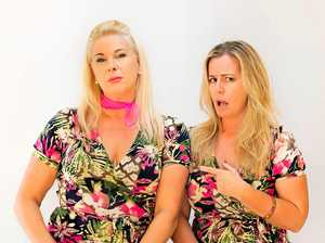 DUO: Mandy Nolan and Ellen Briggs bring their hit show Women Like Us to Nimbin.