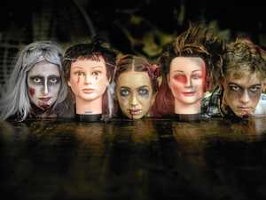 Hairdresser zombies making children's dreams come true