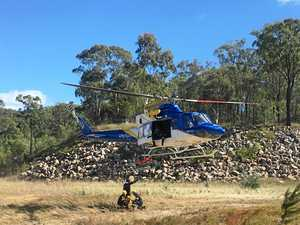 TECH RESCUE: RACQ LifeFlight and Queensland Fire and Emergency Services conduct high-intensity training exercises.