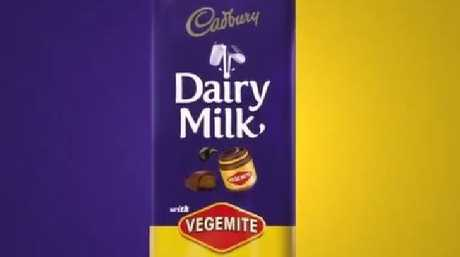The most bizarre outcome of the Cadbury-Kraft takeover was this rather odd chocolate bar.