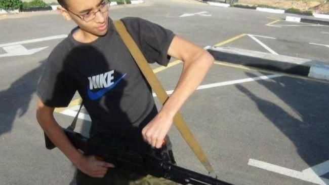 This image of Hashem Abedi, the younger brother Salman Abedi, holding a firearm has surfaced.