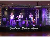 "This band is a tribute to the ""KING of SWING"" Benny Goodman......""Come"".....""Look"".....and ""Listen"" and appreciate the music of this era..""it's brilliant""...."