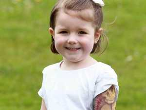Kids being 'inked' with spray-on tattoo sleeves