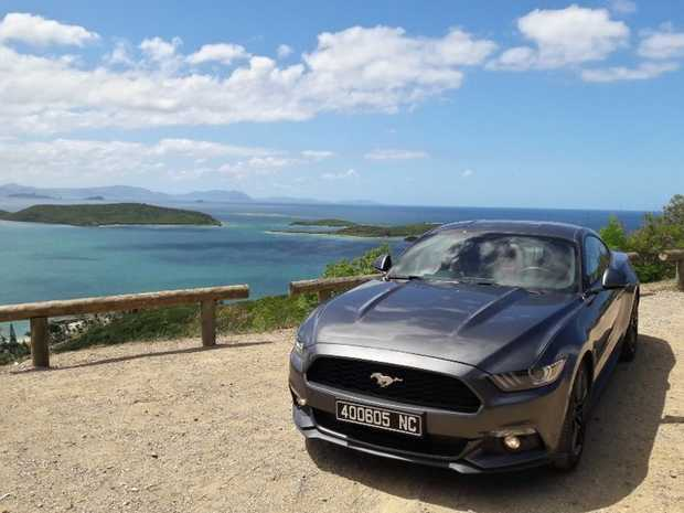 Ford Mustangs Around the World - New Caledonia