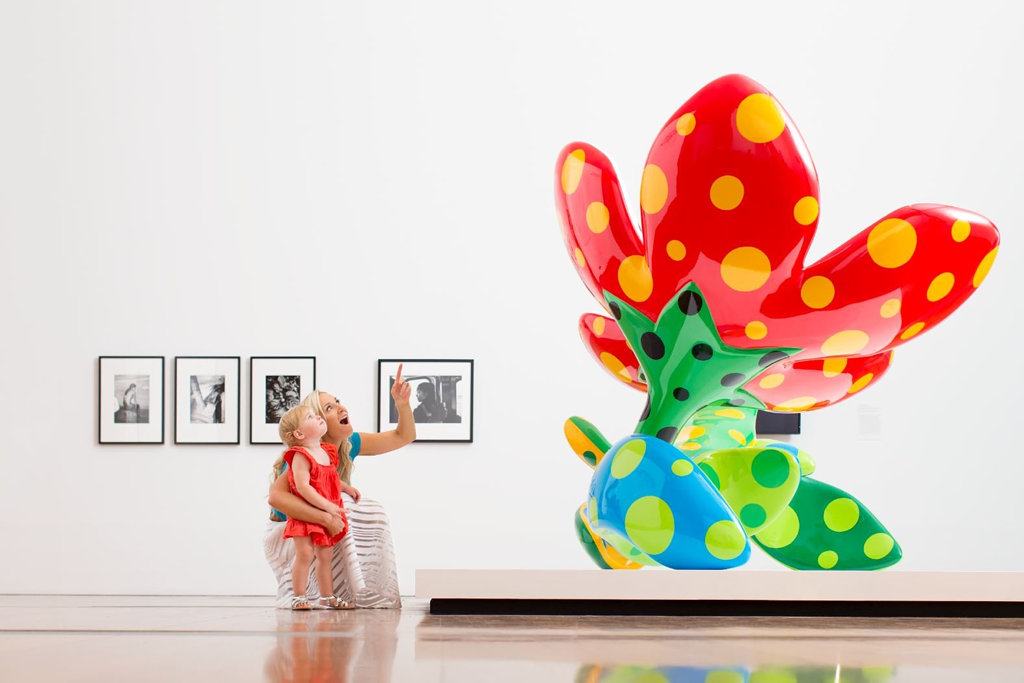 Queensland's Gallery of Modern Art always has a fun, exciting and interesting exhibition on show for the whole family to enjoy.