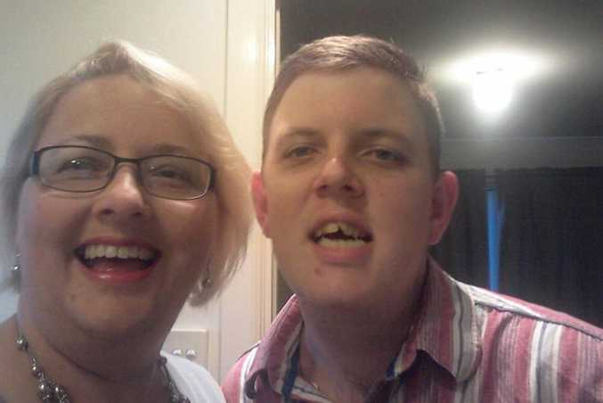 UP AND AWAY: Six months in, Ann Mickan and her son Zac are more than happy with their NDIS experience.