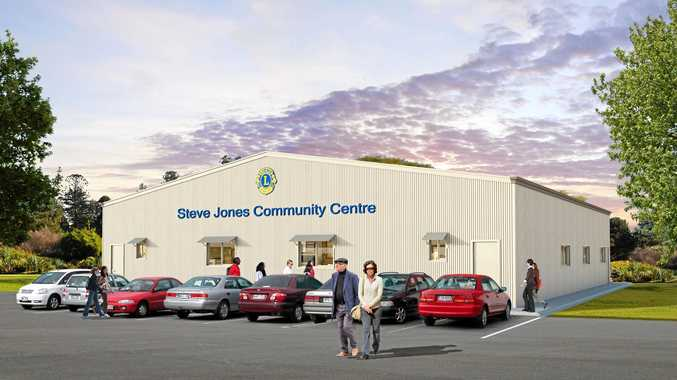 HELP: The Lions Club of Withcott Helidon is raising money to finish the Steve Jones Community Centre.