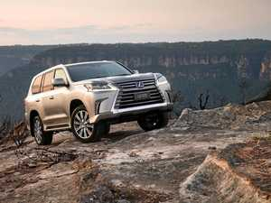 MAGIC CARPET RIDE: Even on the rough stuff, the Lexus LX570 combines capability with opulence.