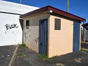 TOILET ISSUES: This closed lavatory has been the cause of disturbance for Dalby residents.