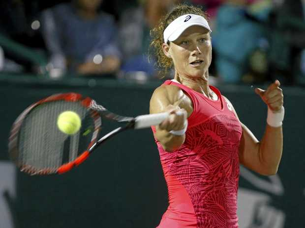 Stosur wins all-Australian final in Strasbourg