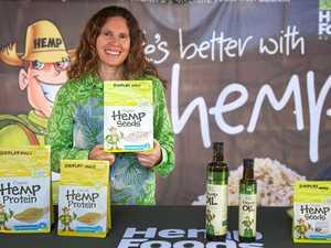 Enjoying hemp nutrition