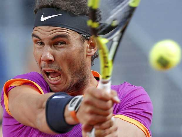BACK ON CLAY: Rafael Nadal is gunning for his 10th French Open.
